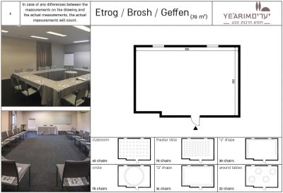 Etrog / Brosh / Geffen Conference room