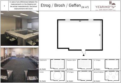 Etrog / Brosh / Geffen Conference room